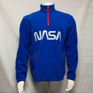 NASA Polar Fleece Sweater Long Sleeve America